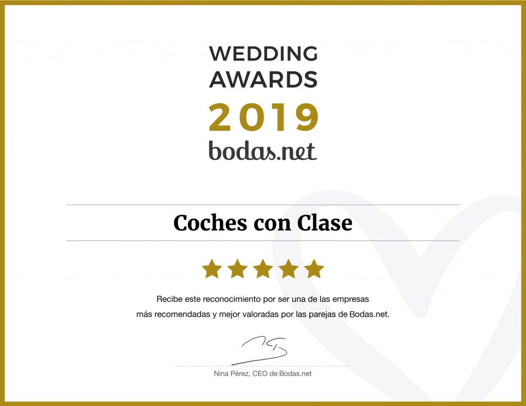 Diploma Bodas.net Wedding Awards