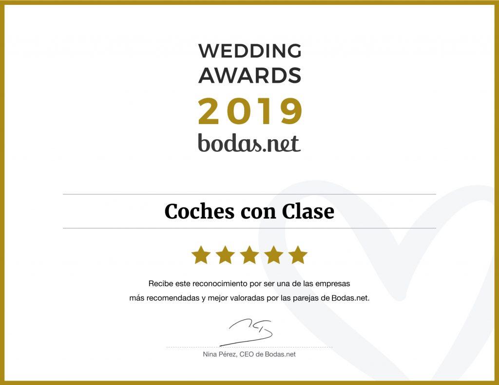 Diploma Bodas.net Wedding Awards