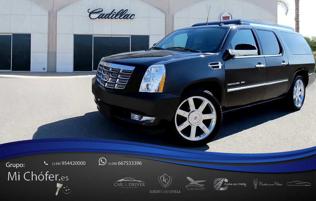 Cadillac para bodas en Sevilla